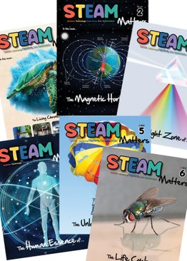 STEAM Magazine: STEAM Matters Issues 1-6