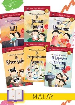 Timmy & Tammy Malay Edition (6 books)