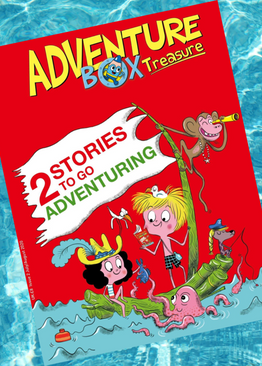 ADVENTUREBOX - AGES 6-9 ( 10 issues )