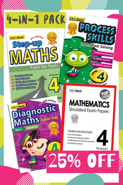 Fan Math Success Pack 2021 P4