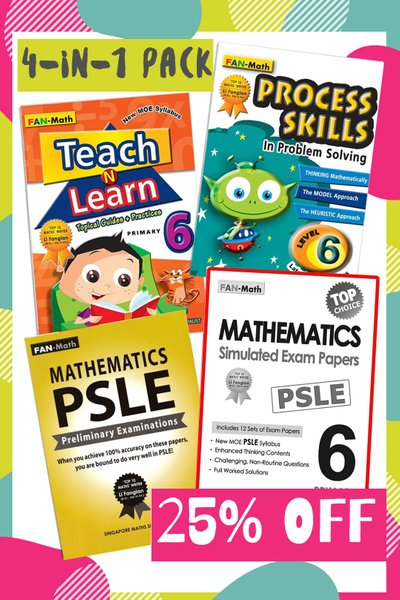 Fan Math Success Pack 2021 P6