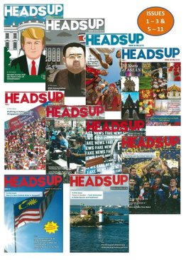 HEADS UP MAGAZINE BUNDLE - 11 ISSUES (1-11)