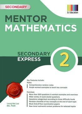 Mentor Mathematics Book 2 (2021 Ed)