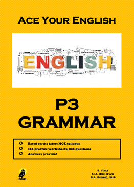 PRIMARY THREE ACE YOUR ENGLISH GRAMMAR