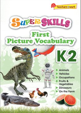 Super Skills First Picture Vocabulary K2