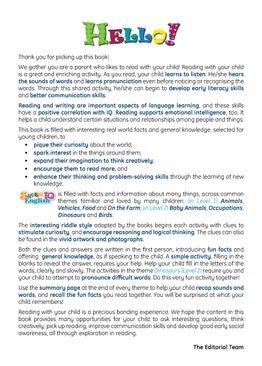Super IQ English Preschool Level 2