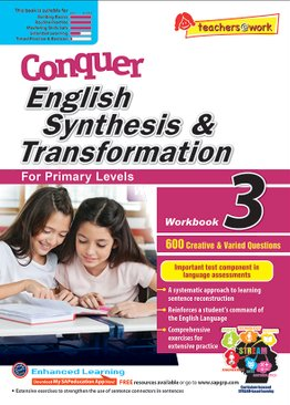 Conquer Synthesis & Transformation Workbook 3