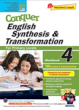 Conquer Synthesis & Transformation Workbook 4