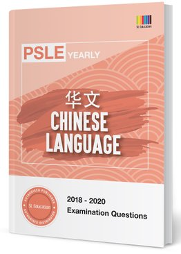 PSLE Chinese Yearly Qns + Ans 2018-2020
