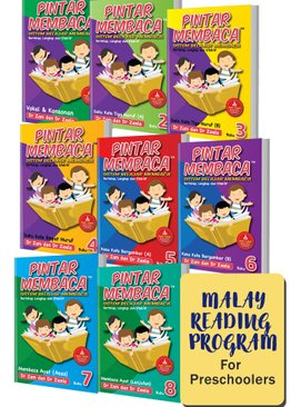 Preschool Malay Reading Literacy Program (8-book)