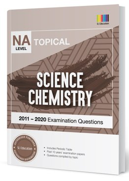 TYS NA Level Science Chemistry Topical Qns + Ans 2011-2020