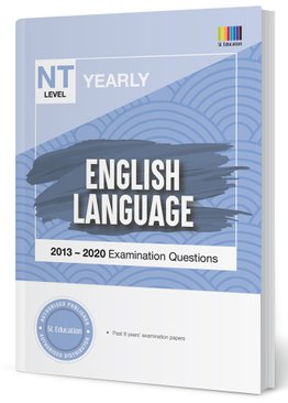TYS NT Level English Yearly Qns + Ans 2013-2020