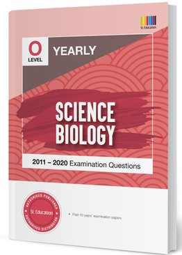 TYS O Level Science Biology Yearly Qns + Ans 2011-2020