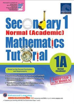 Secondary One Normal [Academic] Mathematics Tutorial 1B