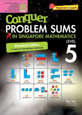 Conquer Problem Sums: A* in Singapore Mathematics Level 5 [Standard Edition]