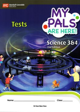 My Pals are Here! Science Tests P3 & P4 (2E)