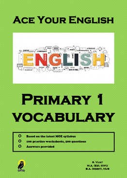 PRIMARY ONE ACE YOUR ENGLISH VOCABULARY
