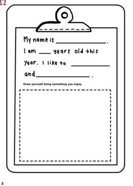 P1-6. My Happy Math Journal