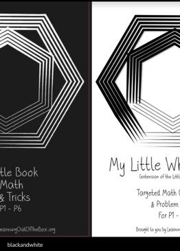 P1-6. My Little Black Book + My Little White Book (Quick Starter Kit)