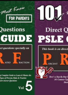 P5/6. 101 Must-Know PRF Questions Vol 5 + 6 (Quick Starter Kit for CA2/SA2/Prelim)