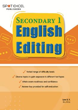 English Editing Sec 1