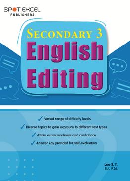 English Editing Sec 3