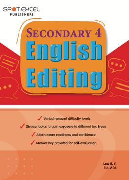 English Editing Sec 4