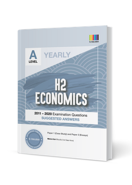 A Level H2 Economics (Yearly) Answer Book 2011-2020