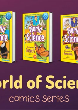 World of Science Comic Series (5-book)
